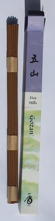 Five Hills or Gozan Japanese Incense | Box of 35 Sticks by Shoyeido