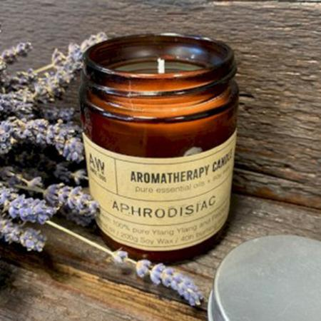 Aromatherapy Soy Wax Candle | Ylang Ylang & Patchouli (Aphrodisiac) | Pure & Vegan