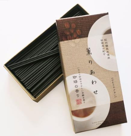 Aroma Bliss Coffee Japanese Incense | 160 Stick box by Nippon Kodo